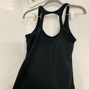 Nike Tops - Nike workout top with open back and built in bra